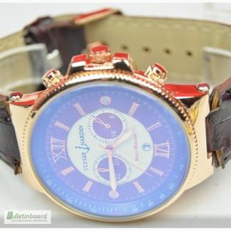 Мужские наручные часы Ulysse Nardin Maxi Marine коричневый циферблат