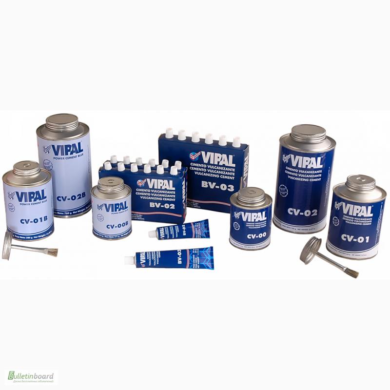Фото 2. Шиноремонтные материалы (материалы для ремонта шин) Vipal
