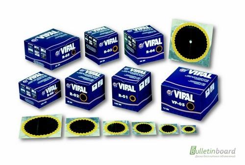Фото 3. Шиноремонтные материалы (материалы для ремонта шин) Vipal