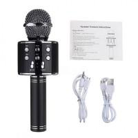 Караоке Wester WS-858 Беспроводной стерео микрофон с динамиком и Bluetooth