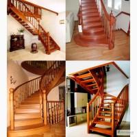 Изготовление деревянных лестниц Кривой Рог
