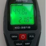 Профессиональный термо-гигрометр Kecheng KC-321B (0 - 99.9%; -10 C - 50 C)