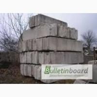 Фундаментные блоки б/у, монтаж
