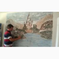 Барельеф и рельефное панно, картины, рельефная роспись стен