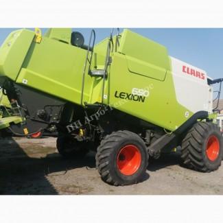 Claas Lexion 650 (Клас Лексион 650) зерноуборочный комбайн