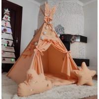 Шалаш, вигвам палатка детская шалаш игровой домик