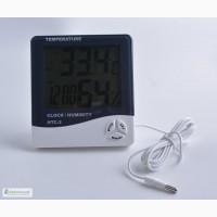 Цифровой термо-гигрометр HTC-2 (0-50 С; 10% 99%) с выносным датчиком