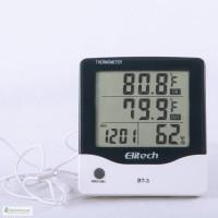Термо-гигрометр Elitech BТ-3 (Великобритания) (0-50 С; 20% 99%) с термопарой 1.5 м