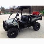 Грузовой квадроцикл транспортер John Deere Gator б/у купить из США