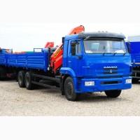 Новый грузовой автомобиль КамАЗ-65117-6010-78 с краном-манипулятором HIAB XS144 B2 CLX