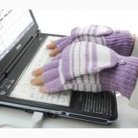 USB-перчатки с подогревом для работы за компьютером