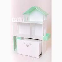 Большой домик для кукол Барби. Кукольный домик. Домик для Барби