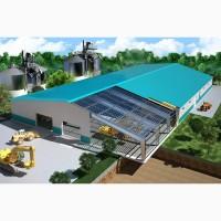Строительство прямостенных ангаров по Днепру и области