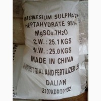 СУЛЬФАТ Магния купить. MG 16% S 13% МЕШОК 25 кг(Китай)
