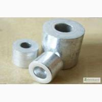 Втулка алюминиевая D535 мм марка АК 7, АК 12 L-до 500 мм
