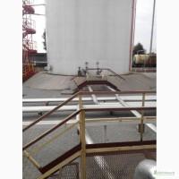 Монтаж стальных вертикальных резервуаров под аммиачную воду