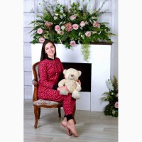 Теплая пижамка с кармашком на попе! Отличный подарок для девушки