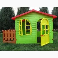 Детский ХХL домик с заборчиком + большой набор игровой Дантист