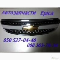 Запчасти Шевроле Эпика капот, решетка радиатора. Chevrolet Epica