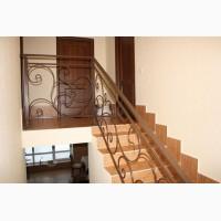 Ограждения лестницы металлические