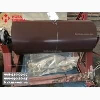 Гладкий лист ral 8017 толщина 0, 70мм, оцинкованный коричневый, шоколад, металла
