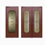 Художественные витражи для межкомнатных и входных дверей