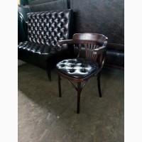 Ирландские стулья бу с мягким сиденьем и подлокотником