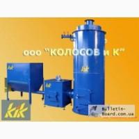 КТ-100: котел на щепе, опилках, пеллетах 100 кВт