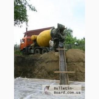 Качественный бетон с доставкой бетоновозами.
