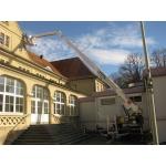 Телескопический прицепной кран Klaas (Германия)