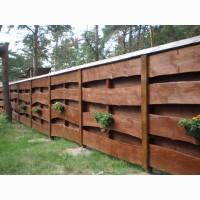Строительство заборов из дерева в Киеве и Киевской области