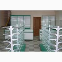 Изготовление витрин, прилавков. Торговая мебель