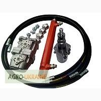 Установка насос-дозатора на трактор Т-25 с гидроцилиндром