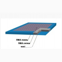 Дезинфекционный коврик для обуви, 100*100 см, толщина 30 мм
