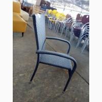 Мебель для летней площадки б/у, стулья из ротанга б/у