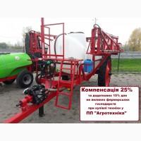 Причіпний обприскувач ОРП 2000 л штанга 18, 21 м КОМПЕНСАЦІЯ - 25%