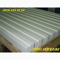 Профнастил белого цвета RAL 9003. Белоснежный профнастил