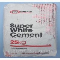 Цемент белый Oyak 25 кг, (Турция)