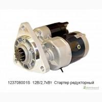 Стартер МТЗ 80, 82, трактор Беларус, редукторный 2, 8 кВт. 123708001