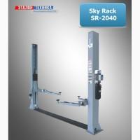 Двухстоечный подъемник Sky Rack SR-2040N, трехсекционные лапы