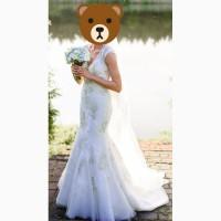 Весільне плаття в стилі рибки