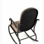 Кресло-качалка, металлическое, Кофе с молоком