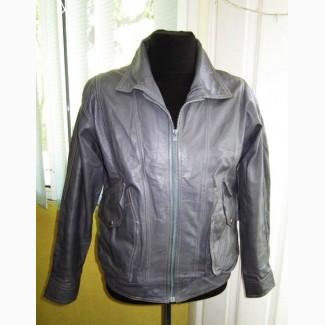 Стильная оригинальная кожаная мужская куртка. Германия. Лот 137