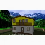 Ривьера - канадский каркасный дом из сип панелей от застройщика Харьков