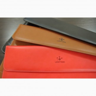 Сумка-чехол кейс для ноутбука, Apple MacBook. 100% кожа