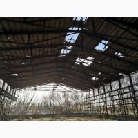 Ангар 24х50 м (1200 м2) готовая металлоконструкция, каркас, ферма 24 м