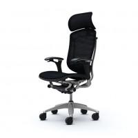 Кресло руководителя OKAMURA CONTESSA 2 SEKONDA Black, полированное