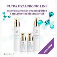 Серия кремов для омоложения кожи с гиалуроновой кислотой