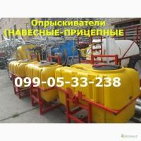 ОПРЫСКИВАТЕЛЬ ОП прицепные и навесные оп (как на фото) от 400л до 2500 литровые
