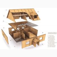Строим уютные дома с SIP панелей под ключ